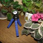 Гибкий Осьминог держатель для фотоопарата и телефона