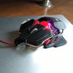 Сиреневая подцветка у мышки Combaterwing cw-80