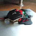 Темно зеленая подцветка у мышки Combaterwing cw-80