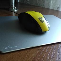 Алюминиевый коврик для мыши HV-MP835